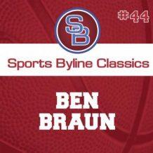 Sports Byline: Ben Braun