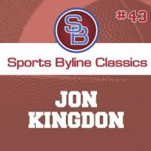 Sports Byline: Jon Kingdon
