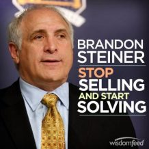 Stop Selling and Start Solving